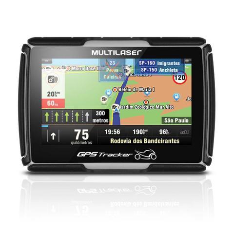 Imagem de GPS para Moto LCD 4,3 Pol. Touch Resistente a Água Case com Carregador Multilaser -GP040