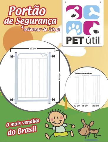 Imagem de Grade Portão Para Porta 69 a 80cm Pet Útil