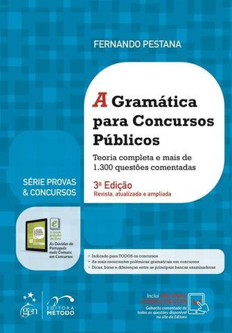 Imagem de GRAMATICA PARA CONCURSOS PUBLICOS, A - 3ª EDICAO