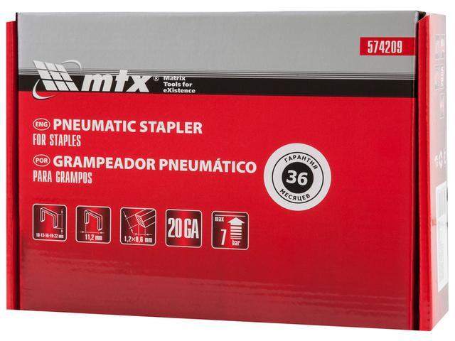 Imagem de Grampeador Pneumático MTX