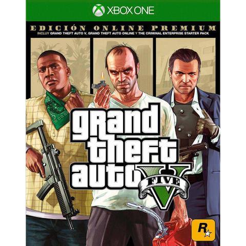 Imagem de Grand Theft Auto V (GTA 5) Premium Online Edition - Xbox One