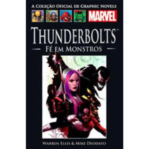 Imagem de Graphic Novels Marvel Thunderbolts Fé em Monstros