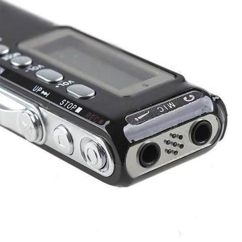 Imagem de Gravador De Voz Digital Espião com 8Gb Memória Digital Alta qualidade Pequeno Discreto portátil