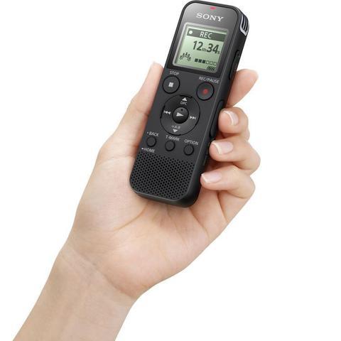 Imagem de Gravador de Voz Digital Sony ICD-PX470 MP3 USB 4GB 159hrs Slot Memória