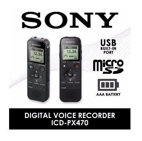 Imagem de Gravador de voz sony px 470 (expansivel )