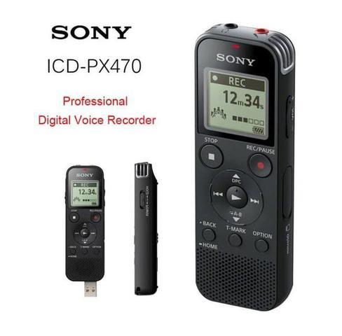 Imagem de Gravador de voz sony px-470 expansivel