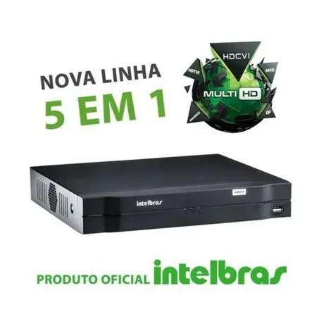 Imagem de Gravador Digital de Vídeo 8 canais  MHDX 1108 Intelbras