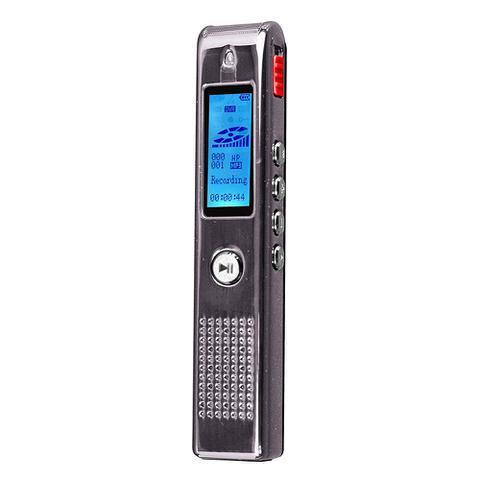 Imagem de Gravador Digital de Voz Coby c/ até 550h, SD 8GB, USB, MP3 e alto falante