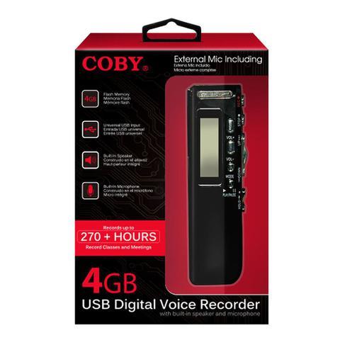 Imagem de Gravador digital de voz, telefônico e MP3 player com 4 GB CVR20