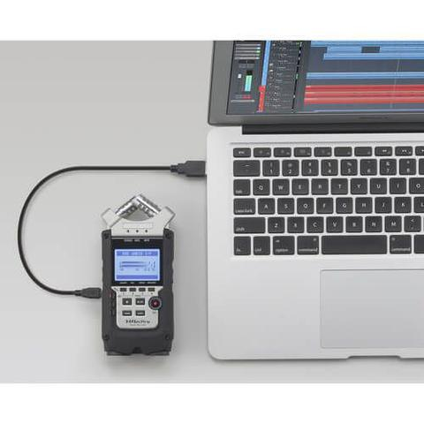 Imagem de Gravador Digital Zoom H4n Pro de 4 Entradas / 4 Faixas com Sistema de Microfone X/Y