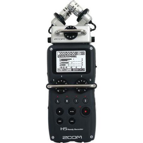 Imagem de Gravador Digital Zoom H5 Handy Recorder com Sistema de Microfone intercambiáveis X/Y