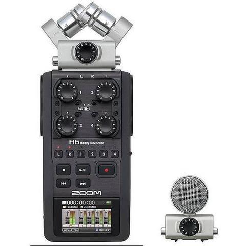 Imagem de Gravador Digital Zoom H6 Handy Recorder - Preto