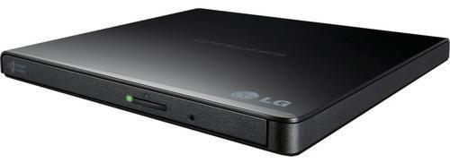 Imagem de Gravador DVD Externo LG Slim - 8x - Portátil - USB - Preto - GP65NB60