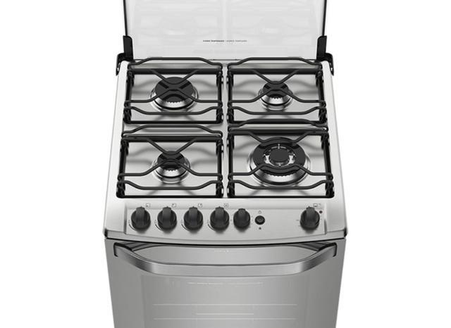 Imagem de Grelha lateral p/ boca tripla chama fogões electrolux 4 bocas tax