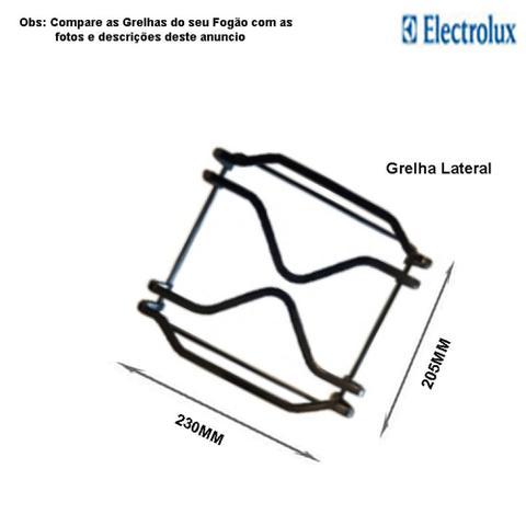 Imagem de Grelha lateral p/fogões tripla chama electrolux 5 bocas 76 gsr