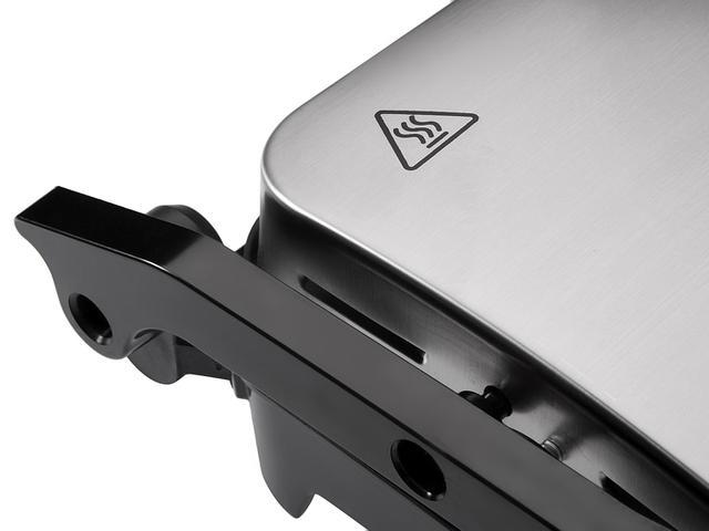 Imagem de Grill Arno Dual Inox Gnox Retangular