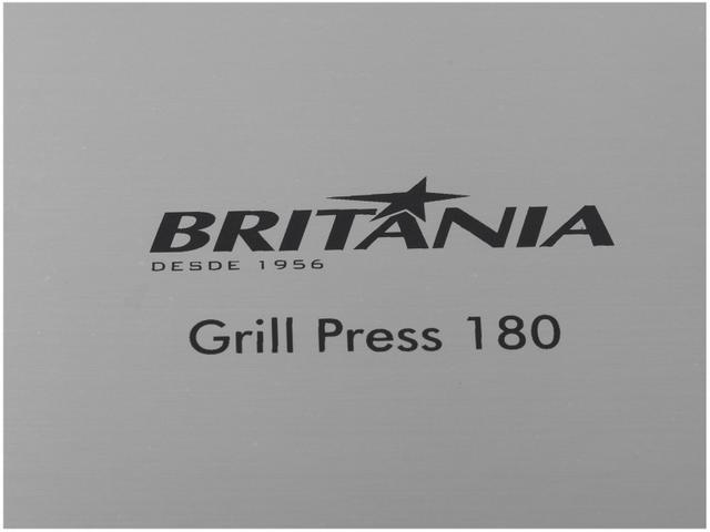 Imagem de Grill Britânia Press 180 1400W