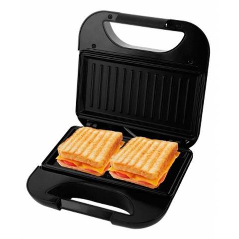 Imagem de Grill E Sanduicheira Toast Inox Com Trava 750w Britania