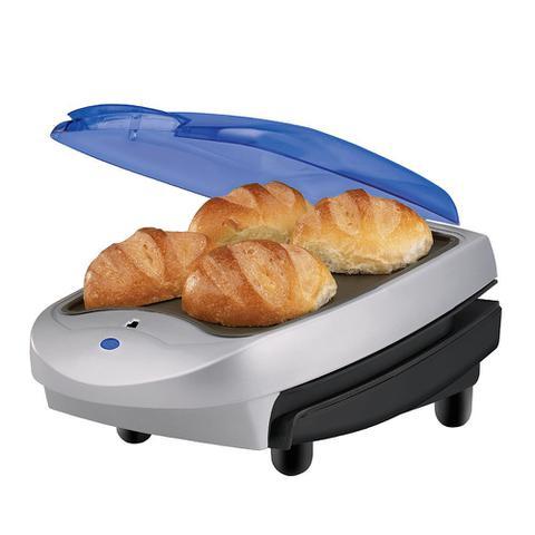 Imagem de Grill Família George Foreman com aquecedor de pães