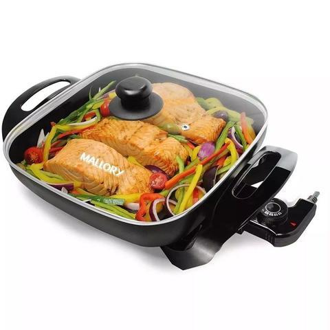 Imagem de Grill Panela Elétrica Mallory Gourmet Multifuncional 1200w