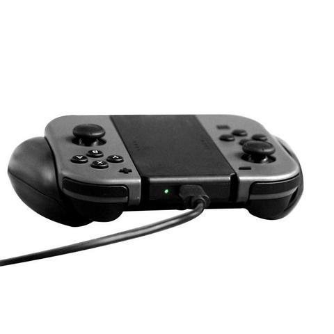 Imagem de Grip Suporte Com Bateria Joy Con Nintendo Switch Carregador