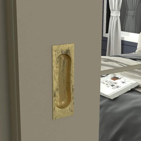 Imagem de Guarda Roupa Casal 4 Espelhos 3 Portas de Correr Olimpya Henn Duna