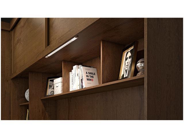 Imagem de Guarda-roupa Casal 4 Portas de Correr 5 Gavetas