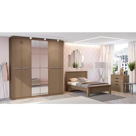Imagem de Guarda-Roupa Casal 6 Portas com Espelho Kappesberg