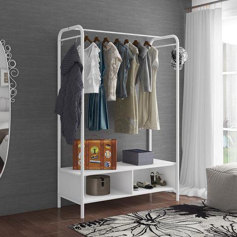 Imagem de Guarda Roupa Casal Closet Milão Branco - Artefamol