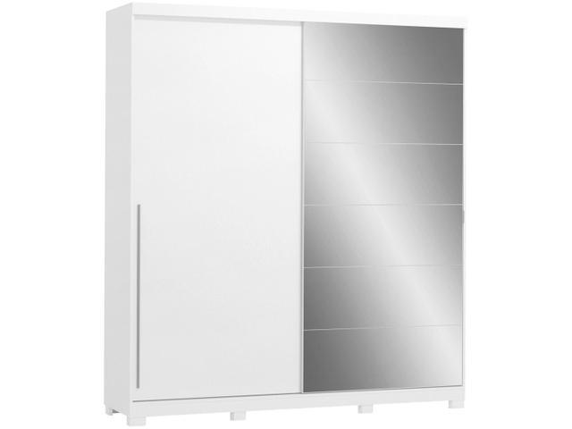 Imagem de Guarda-roupa Casal com Espelho 2 Portas de Correr