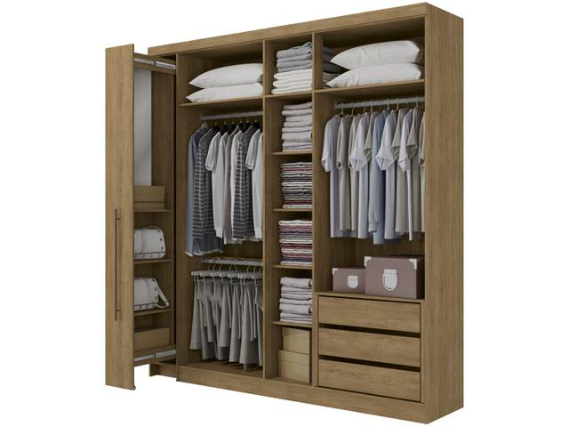 Imagem de Guarda-roupa Casal com Espelho 6 Portas