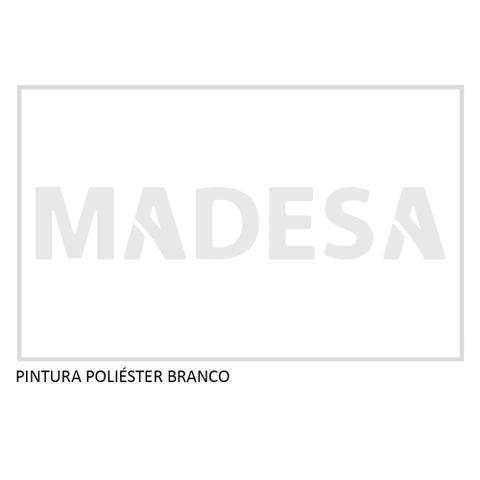 Imagem de Guarda Roupa Casal Madesa Mônaco 3 Portas de Correr com Espelho com Pés