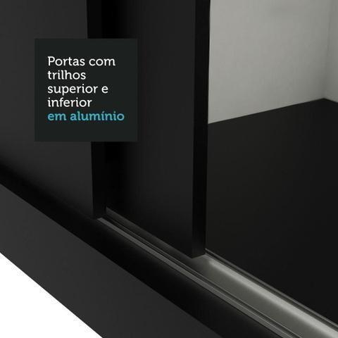 Imagem de Guarda-Roupa Casal Madesa Reno 3 Portas de Correr com Espelho