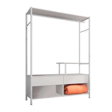 Imagem de Guarda-Roupa Closet Modulado Barcelona Branco