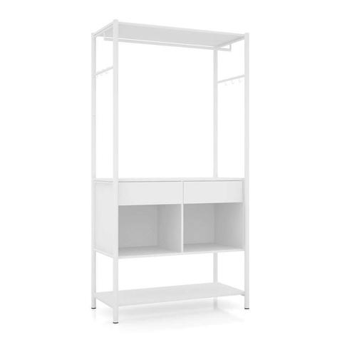 Imagem de Guarda-Roupa Closet Modulado Paris Branco