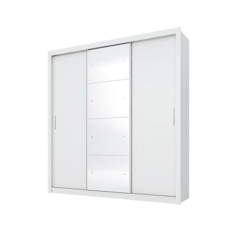 Imagem de Guarda roupa residence ii 3 portas branco - demobile