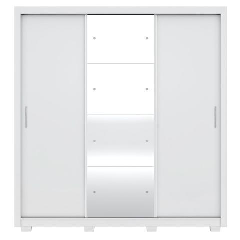Imagem de Guarda-Roupa Residence II 3 Portas de Correr com Pés Branco