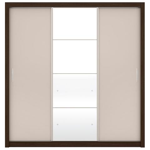 Imagem de Guarda-Roupa Residence II 3 Portas de Correr Ébano Touch