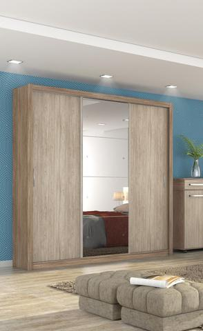 Imagem de Guarda Roupa Residence II Nogal Vanilla - Demobile