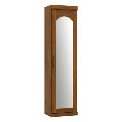 Imagem de Guarda Roupa Sapateira Finestra 01 Porta com Espelho Parma Madeira