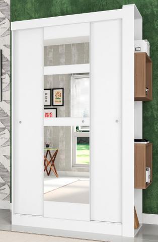 Imagem de Guarda-Roupas com 3 Portas de Correr com Espelhos Doce Cheiro Montana - Art In Móveis