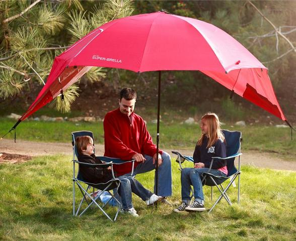 Imagem de Guarda Sol Super Brella Deep Red  BRE01SUP0502 SKLZ