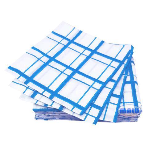 Imagem de Guardanapo 20x21 Xadrez Azul c/50 - Luigi