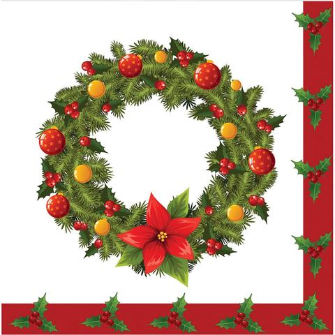 Imagem de Guardanapo de papel decorado natalino sortidos - yangzi