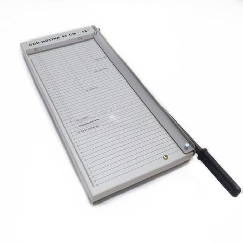 Imagem de Guilhotina para cortar papel até 10 folhas Tam 46cm Manual Excentrix