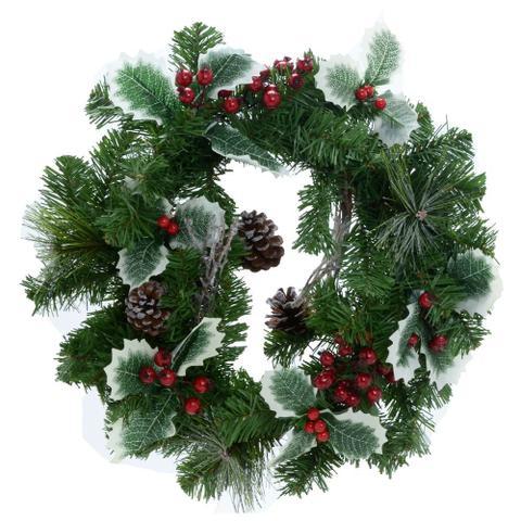 Imagem de Guirlanda Decorada Santini Christmas 36cm Noite Feliz
