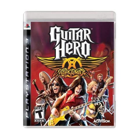 Jogo Guitar Hero Aerosmith - Playstation 3 - Activision