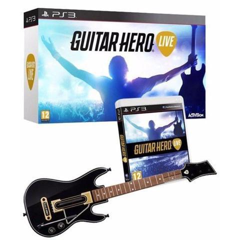 Imagem de Guitar Hero Live Bundle com Guitarra PS3