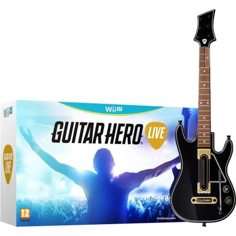 Imagem de Guitar Hero Live Bundle com Guitarra Wii U