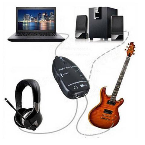 Imagem de Guitar Link USB - Preto - Adaptador De Guitarra Para Pc